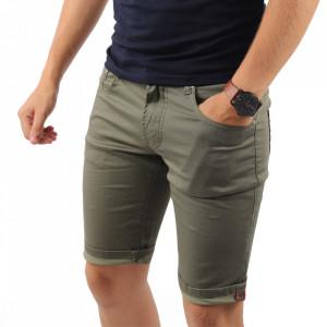 Pantaloni scurți pentru bărbați cod KL004 Olive