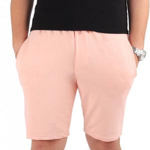 Pantaloni scurți pentru bărbați cod MP1317 Pink
