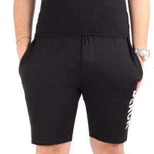 Pantaloni scurți pentru bărbați cod MP1318 Black