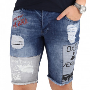 Pantaloni scurți pentru bărbați cod PST94 Blue