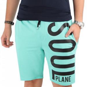 Pantaloni scurți pentru bărbați cod SP01 Turquoise