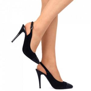Pantofi cu toc albastri Cod 854474