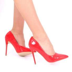 Pantofi Cu Toc Amari Rosii