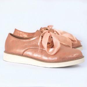 Pantofi din piele ecologică Cod 3241