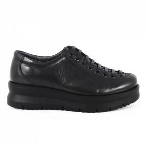 Pantofi din piele naturală cod 117920 N
