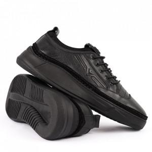 Pantofi din piele naturală Cod 202 Black - Pantofi din piele naturală   Tălpicmoale ce conferă comoditatea de care ai nevoie! Finisaje îngrijite cu un design deosebit - Deppo.ro