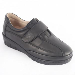 Pantofi din piele naturală pentru dame cod 208 Black