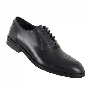 Pantofi pentru bărbați cod 186 Negru