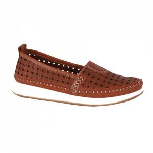 Pantofi pentru dame cod 05L20 Taba
