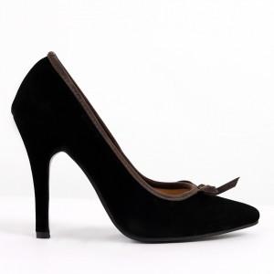 Pantofi pentru dame cod 2207 Black
