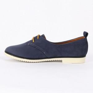 Pantofi pentru dame Cod B0001 Navy - Pantofii îți transformă limbajul corpului și atitudinea. Te înalță fizic și psihic! Pantofi pentru dame din piele ecologică lăcuită - Deppo.ro