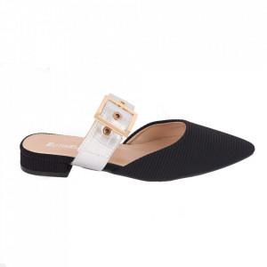 Pantofi pentru dame cod LU0040 BLACK/SILVER
