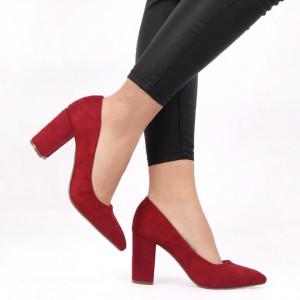 Pantofi pentru dame cod SA17-79 WINE