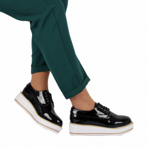 Pantofi pentru dame cod V16 Negri