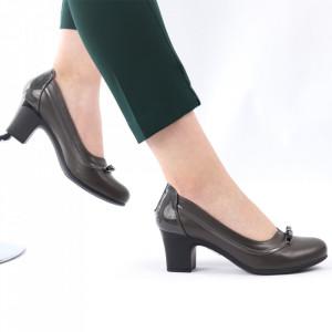 Pantofi pentru dame cod X24 Grey