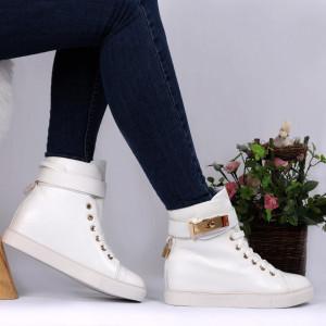 Pantofi Sport Cod 696 - Pantofi sport din piele ecologică  Închidere prin șiret  Foarte comfortabili - Deppo.ro