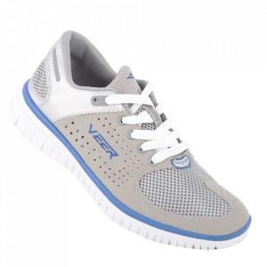 Pantofi sport din piele naturală pentru bărbați cod 896-1 Ash/Boln