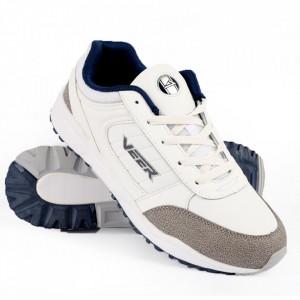 Pantofi Sport din piele naturală pentru bărbați cod 9189 White