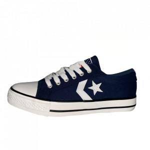 Pantofi Sport pentru bărbați albaștri cod 117 Blue