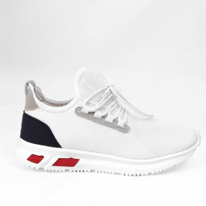 Pantofi Sport pentru bărbați albi cod MARCO02