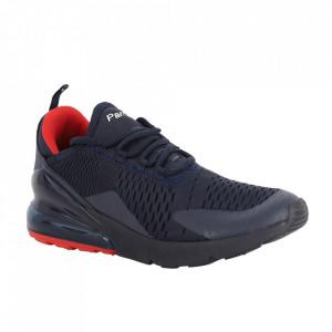 Pantofi sport pentru bărbați cod 073-2 Navy/Red