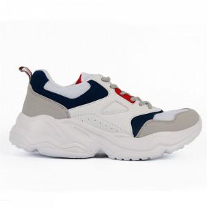 Pantofi Sport pentru bărbați cod 13946 White