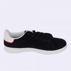 Pantofi Sport pentru bărbați cod 461 Navy - Pantofi sport pentru bărbaţi, model catifelat cu un design deosebit ideali pentru o ținută sport casual - Deppo.ro
