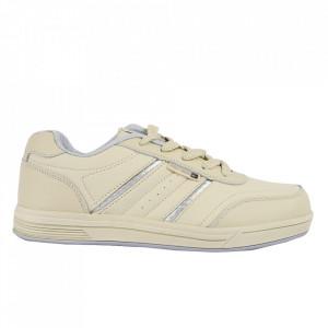 Pantofi Sport pentru bărbați cod 9204 Bej - Pantofi sport pentru bărbați Ideali pentru ieșiri si practicarea exercitiilor în aer liber - Deppo.ro