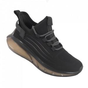 Pantofi sport pentru bărbați cod A02-11 Black