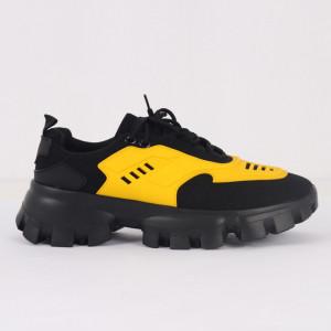 Pantofi Sport pentru bărbați cod H11 Yellow