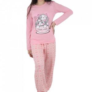 Pijama pentru dame cod CT Pink