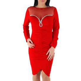 Rochie Emily Red