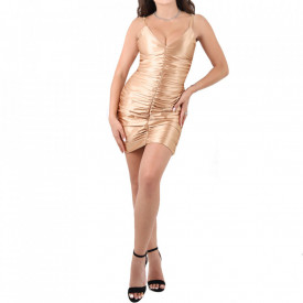 Rochie Evelyn Gold