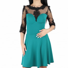 Rochie Lacey Turquoise