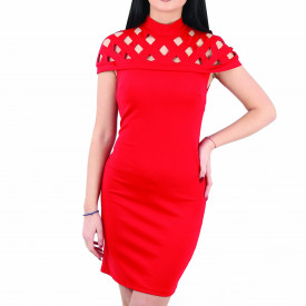 Rochie Leia Red