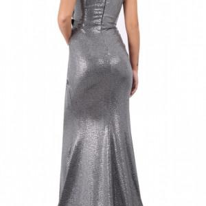 Rochie lungă Luiza - Cumpără îmbrăcăminte și încăltăminte de calitate cu un stil aparte mereu în ton cu moda, prețuri accesibile și reduceri reale, transport în toată țara cu plata la ramburs - Deppo.ro