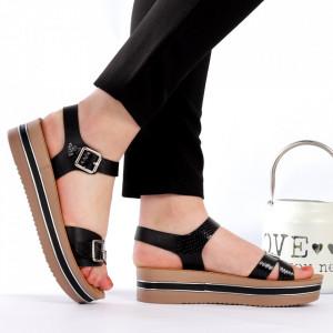 Sandale cu platformă cod Z26 Black