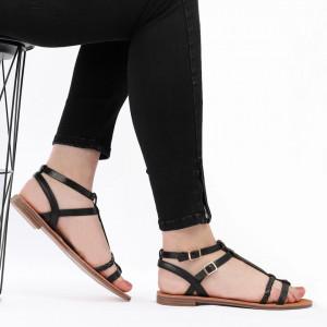 Sandale cu talpă joasă cod M36 Black