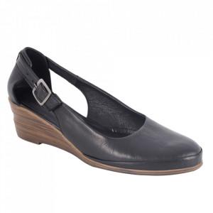 Sandale din piele naturală cod 0633 Black