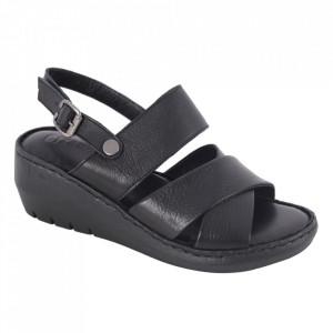 Sandale din piele naturală cod 240 Siyah