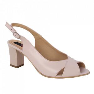 Sandale din piele naturală cod 333 Pink
