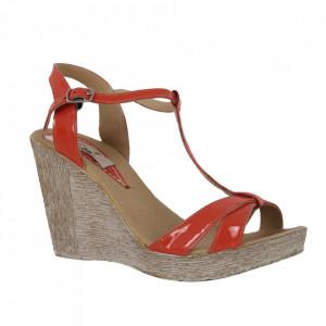 Sandale din piele naturală cod 93 Corai
