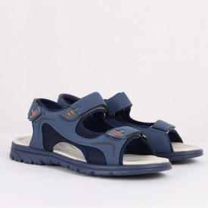 Sandale pentru băieți cod CT3366F Albastre - Sandale pentru băieți cu talpă din piele naturală - Deppo.ro