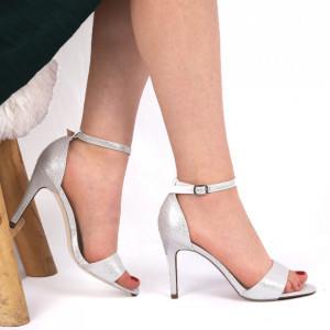 Sandale pentru dame cod 1122-1 White