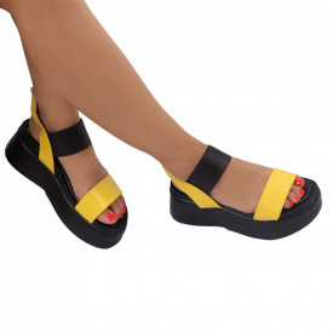 Sandale pentru dame cod 22180-2A Yellow