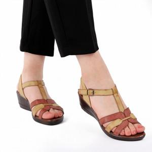 Sandale pentru dame cod 517335 Maro