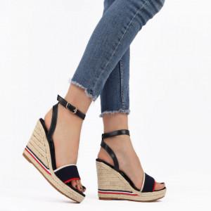 Sandale pentru dame cod F20-21 DK. Blue