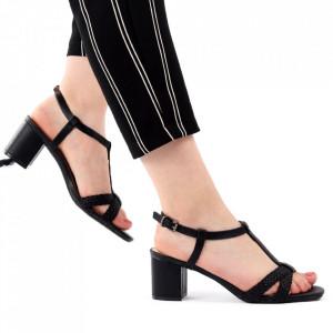 Sandale pentru dame cod J53 Black