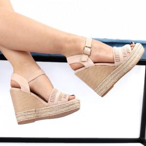 Sandale pentru dame cod JM221J Nude