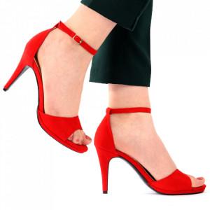 Sandale pentru dame cod L17 Red